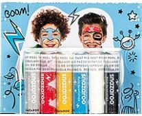 Chłopcy, zestaw kredek do twarzy Snazaroo, 6 kolorów