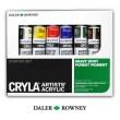 Farby akrylowe Cryla Artists' Acrylic, Daler-Rowney, 6 x 22ml