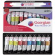 Farby olejne Georgian Water Mixable, Daler-Rowney, 10x20ml