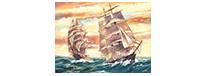 Sailing ships, zestaw do numeromalowania, Reeves