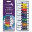 Wodorozcieńczalne farby olejne Reeves, 12 x 10ml