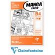 Blok Manga & Comics 200g, Clairefontaine B4