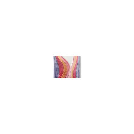 Pastel tonalny - paski do quillingu, 0,5 x 42 cm, 200 szt.