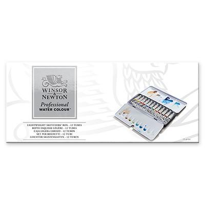 Akwarele Professional Sketchers Box - tubki, Winsor&Newton 12kol
