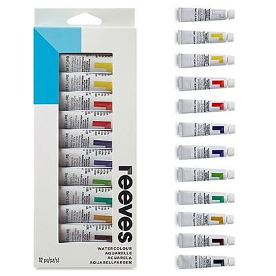 Farby akwarelowe firmy Reeves - 12 kolorów