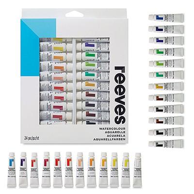 Farby akwarelowe firmy Reeves - 24 kolory