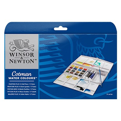 Akwarele Cotman paiting plus