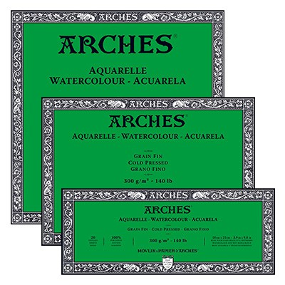 Blok Arches CP 300g 20ark. 26 x 36 cm