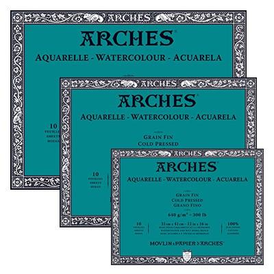 Blok Arches CP 640g 10ark. 26 x 36 cm