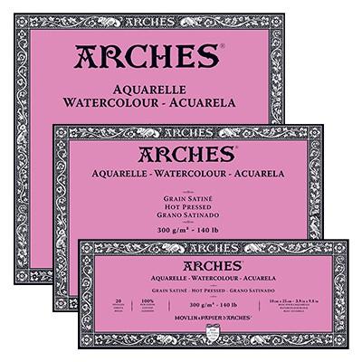Blok Arches HP 300g 20ark. 20 x 20 cm
