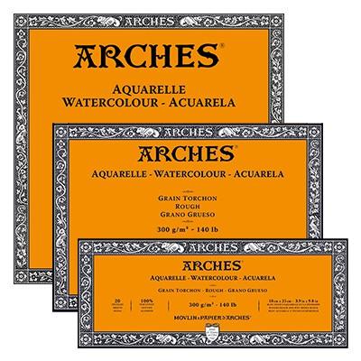 Blok Arches RGH 300g 20ark. 15 x 30 cm