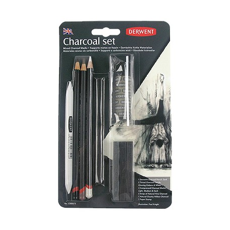 Węgiel Charcoal Set Derwent
