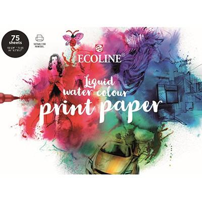 Blok Ecoline Print Papier, 75 ark. A4