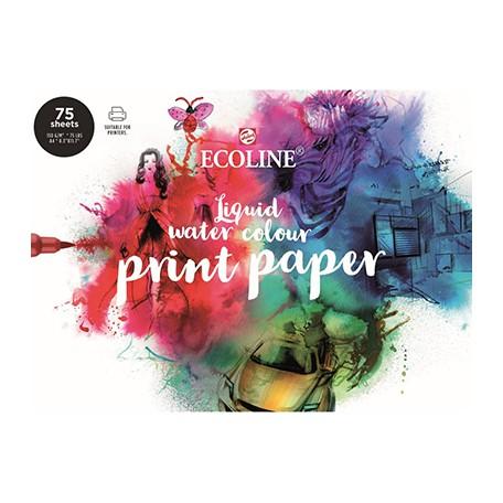 Blok Ecoline Print Papier, 75