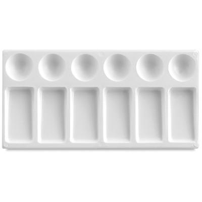 Paleta plastikowa prostokątna - 12 komór, 12x23cm