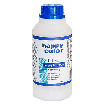 Klej do papieru PVA 500g Happy Color
