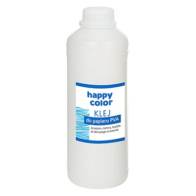Klej do papieru PVA 1000g Happy Color