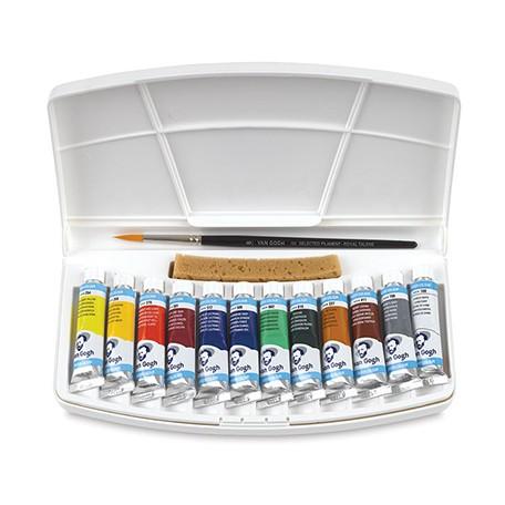 farby akwarelowe w tubkach