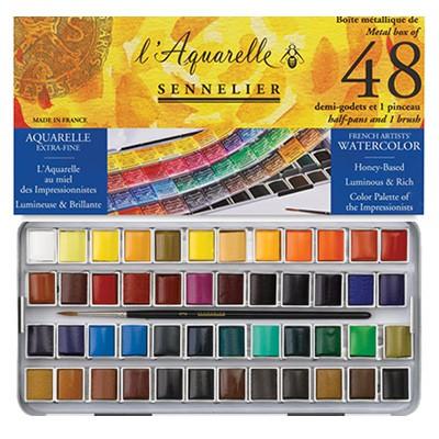 farby akwarelowe sennelier zestaw