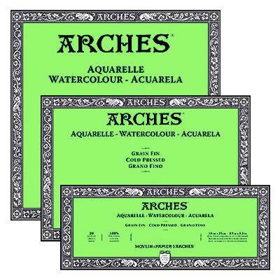 Blok Arches CP 185 g 20 ark. 18 x 26 cm