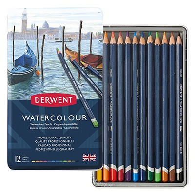 Watercolour Derwent Pencils