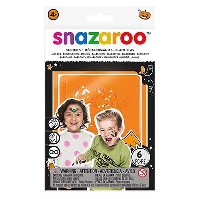 Halloween - szablony do malowania ciała, Snazaroo, 6szt