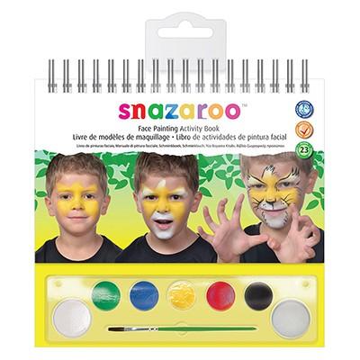 Activity Book, zestaw farb Snazaroo, 8 elementów