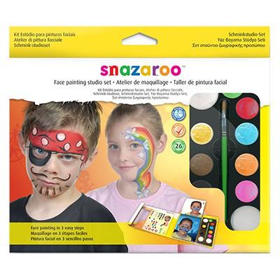 Studio Set, zestaw farb Snazaroo, 13 elementów