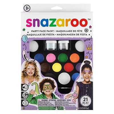 Party, zestaw farb Snazaroo, 22 elementy