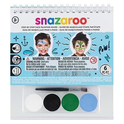 Chłopcy, zestaw farb Snazaroo, 4 x 1ml