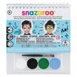 Chłopcy zestaw farb Snazaroo