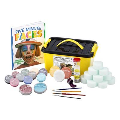 Face Painters Kit 1500, zestaw farb Snazaroo, 34 elementy