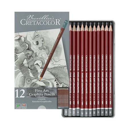 Olowki grafitowe Cleos Cretacolor