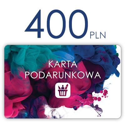 plastikowa karta podarunkowa