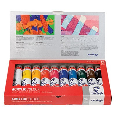 Farby akrylowe Van Gogh
