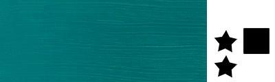 232 Deep turquoise, farba akrylowa serii Galeria, tuba 120ml