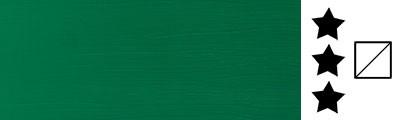 484 Permanent green middle, farba akrylowa serii Galeria, tuba 6