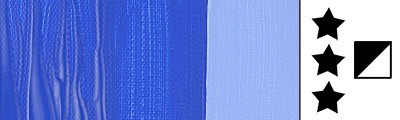 512 Cobalt blue (ultram.), farba akrylowa Talens Amsterdam, 250m