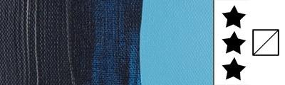566 Prussian blue (phthalo), farba akrylowa Talens Amsterdam, 25