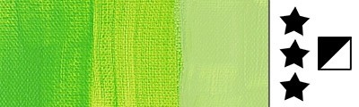 brilliant green farba akrylowa