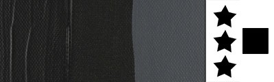 735 Oxide black, farba akrylowa Talens Amsterdam, 250ml