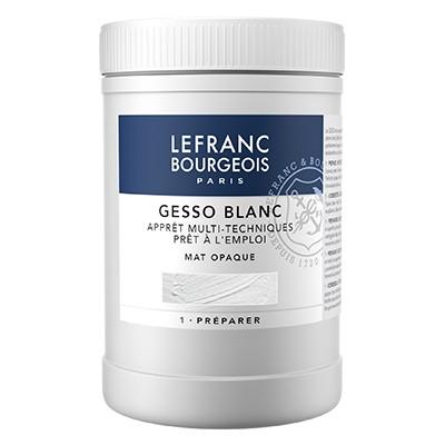 Gesso, grunt akrylowy LeFranc & Bourgeois, 1 litr