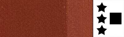 sienna palona farba akrylowa