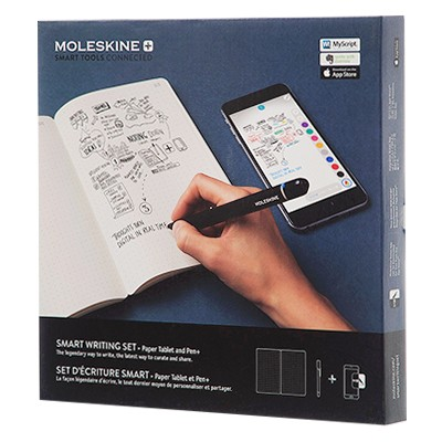 Moleskine Smart Writing Set, notes i długopis
