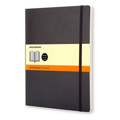notes moleskine linia