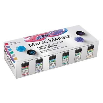 magic marble metallic kreul