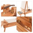 wooden easel mix