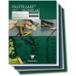 Pastelmat green tones, blok do pasteli Clairefontaine, 24/30 cm