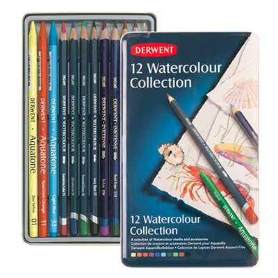 watercolour collection derwent