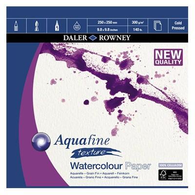 Aquafine texture, blok akwarelowy Daler Rowney 25 x 25cm, 300 g